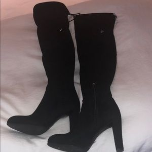 kent over-the-knee suede boots by sam edelman